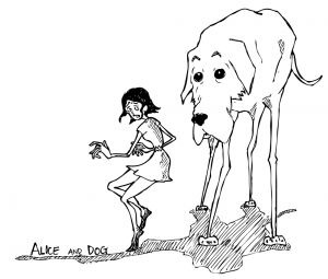Alice and Dog